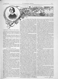 Gertrudis Gómez de Avellaneda  -  La ilustración artística : periódico semanal de literatura, artes y ciencias: Tomo XIX Año XIX Número 959 - 1900 mayo 14