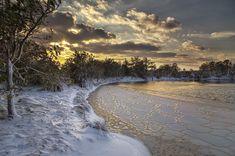 """Winter Wonderland in Virginia Beach"" (Virginia Beach) Chris Giersch Donate Now, Virginia Beach, Marry Me, Winter Wonderland, Beautiful Places, Hearts, America, River, Book"