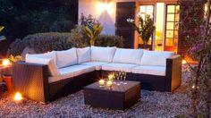 modern outdoor furniture, upholstered garden furniture