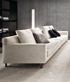 Minotti Sectional With Decorative Lighting Collection | 沙发 | Pinterest |  Collection, Living Rooms And Interiors