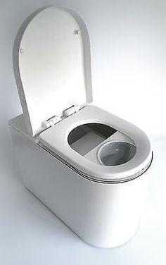 Modern design Composting Toilet, urine separator, eco loo waterless off the grid