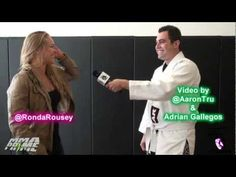 Ronda Rousey Busts Reporter's Balls. This is why we all love being part of the #ArmbarNation - visit RondaRousey.net