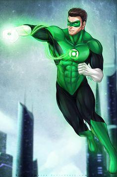 Hal Jordan Green Lantern fanart