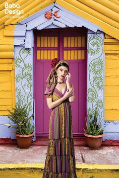 Vertical Forex Spring Summer 2016 #frida #khalo #skull #flowers #springsummer2016 #collection #babadesign #baba #design Spring Summer 2016, Mexico, Skull, Flowers, Outfits, Collection, Dresses, Design, Fashion