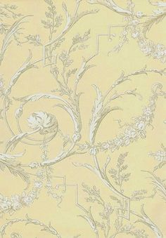 Cherub Toile Wallpaper A traditional style wallpaper of cherubs in white and taupe on cream background