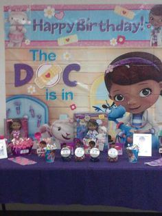 Doc McStuffins Birthday Bash! | CatchMyParty.com