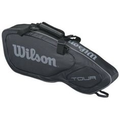 23241ab96a016 Buy Wilson Tour V (3-Pack) Tennis Bag (Black