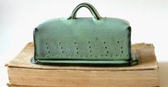 One of my most popular kitchen products is my covered butter dish!      Covered Butter Dish with Dot Design in Aqua Mist     First I roll a ...