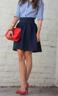 The Awesome Blog! | Go Chic or Go Home  (Need skirts like this for work)
