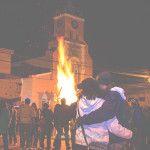 Se realizó la gran fojata de San Juan Bautista niño junto al pueblo de Tinogasta