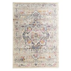 Amar Cream & Fuschia Rug Unique Home Decor, Home Decor Items, House Beautiful, Beautiful Homes, Ups Delivery, Office Floor, 4x6 Rugs, In This House We, Pick Up In Store