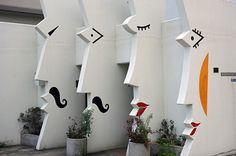 Baños públicos creativos  #baños #bathroom #publico