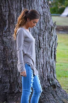 Ever So Soft Long Sleeve (Small, Medium, Large) #Fall #FallisHere #Autumn #BlackberryBoutique #ShopBlackberry #Clothing #Boutique #BoutiqueClothing #Cute #OOTD #Trendy #FallClothes #Clothing #Fashion #BoutiqueFashion