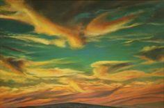 Painting Original Art Modern Oil Canvas Decor Signed Wall Contemporary Fantasy #SONGFORTOMORROW