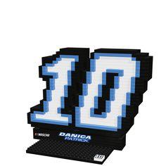Danica Patrick #10 NASCAR Logo BRXLZ 3D Puzzle Set
