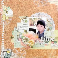 BREAK time - My Creative Scrapbook Limited Edition Kit OCT 2014 Prima - Coffee Break Collection