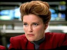"""Don't mess with Captain Kathy!  I hope I can be this kind of leader...she is caring, compassionate, smart, tough as nails and full of """"Klingon guile"""" !!!! LOL"""