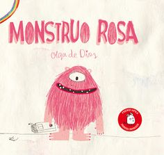 Monstruo rosa (Spanish Edition): Pink Monster has been different from the day she was born. One day, she decides to look for a new place to live. She ends up finding an area where everyone is different and, from then on, she never stops smiling. Free Presentation Software, Yoga For Kids, Children's Literature, Children's Book Illustration, Illustrations, Kawaii Anime, Storytelling, Childrens Books, Neon Signs