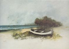 Mario Lupo, Maestrale, 1974, olio su tela, 100 x 70 cm, Giulianova