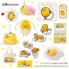 "Who are egg lovers here? (⑅˘͈ ᵕ ˘͈ ) If you are one, you will surely love Gudetama / ぐでたま!Gudetama is one of Sanrio's most popular characters at the moment here in Japan! ლ(́◉◞౪◟◉‵ლ) [Short trivia about Gudetama] ""Sanrio's egg-turned-mascot character..."