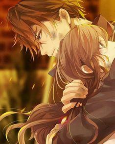 Anime Couples Hugging, Anime Couples Drawings, Anime Couples Manga, Couple Hugging, Cute Anime Boy, Anime Art Girl, Anime Girls, Manga Girl, Couple Manga