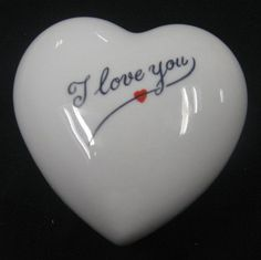 "Limoges ""I Love You"" Heart Box - Name says it all :)."