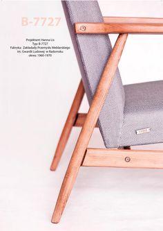 Lisek. Fotel PRL. Armchair designed by Hanna Lis. Redesigned by Lekka Furniture. Design. Details. Detale.