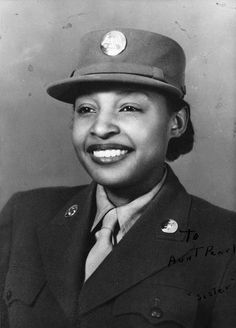 Portrait of Millie Dunn Veasey, circa 1944 - The Betty H. Carter Women Veterans Historical Project - UNCG University Archives
