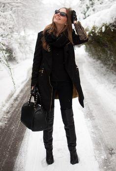 Especially love the coat