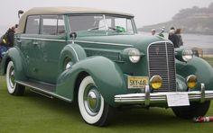 1936 Cadillac V12 Series 85 Convertible Sedan by Fleetwood