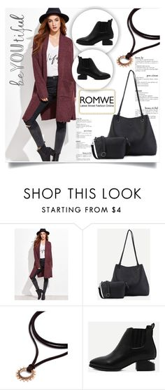 """""""ROMWE 7"""" by melisa-hasic ❤ liked on Polyvore featuring vintage"""