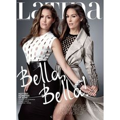 The Bella Twins Cover Latina Magazine, Brie Opens Up About Life After... ❤ liked on Polyvore featuring home, home decor, small item storage and wwe