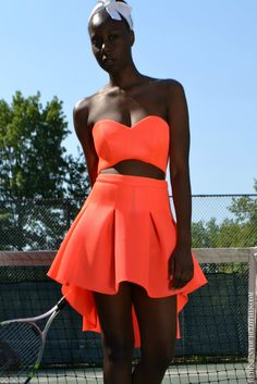 DIY Sweetheart Strapless Cutout Dress. More on the blog