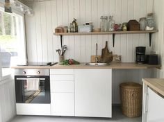 Home Decorating Style 2019 for 20 Lovely Summer Kitchens, you can see 20 Lovely Summer Kitchens and more pictures for Home Interior Designing 2019 at Homedecorlinks. Home Decor Furniture, Home Furnishings, Furniture Design, Ikea Makeover, Modern Contemporary Homes, Summer Kitchen, Home Upgrades, Diy On A Budget, Kitchen Decor