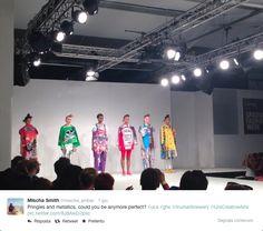 Graduate Fashion Week 2014 - Eujean Cha - Crispy chips fashion trend