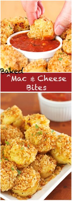 Baked Mac and Cheese Bites - 2Teaspoons