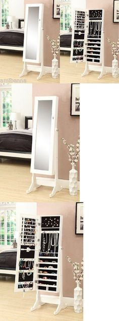 MultiPurpose 168165 New Mirrored Jewelry Cabinet Mirror