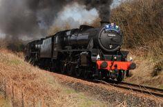 Steam train in Great Britian