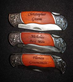 Giving Knives As A Wedding Gift : Wedding: Getting Ready on Pinterest Pew Decorations, Guestbook and ...
