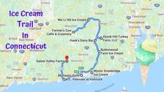 This Mouthwatering Ice Cream Trail In Connecticut Is The Sweetest Adventure In The State Cancun Hotels, Beach Hotels, Beach Resorts, Best Diner, New Britain, New England Travel, Best Ice Cream, Beach Trip, Beach Travel