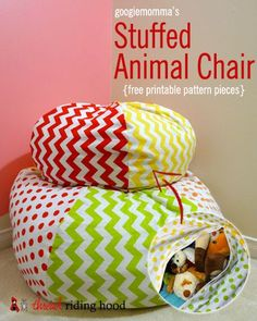 Stuffed Animal Chair Pattern