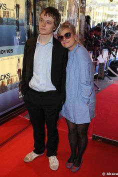 Lily Allen and her brother Alfie
