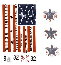 DIKAYL RIMMASCH | RALPH LAUREN / DES. Clothing Tags, Pink Houses, Vintage Tags, Hang Tags, Graphic Design Inspiration, Independence Day, Typography, Ralph Lauren, America