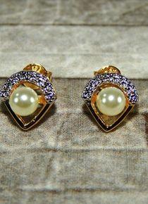 Aros masonicos con perla Pearl Earrings, Jewelry, Fashion, Pearls, Gold, Jewelery, Jewellery Making, Moda, Pearl Studs