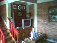 Living room and television