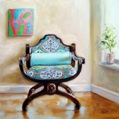 labor of love, painting by artist Kimberly Applegate