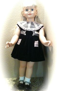 "Ashton Drake ""Platinum Patti Play Pal"" Doll with Original Box!  Approx: 36 inches in Height!"