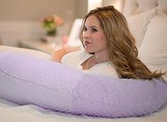 I just ordered a Lilac Minky Body Pillow from Pregnancy Pillow! Check it out! You can get one too!