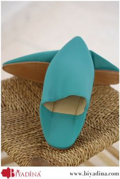 #Biyadina presents you a large choice of #leather #Moroccan #Slippers