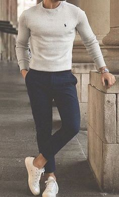 Casual outfit of the day by ? – [pin_pinter_full_name] Casual outfit of the day by ? Casual outfit of the day by … Mode Outfits, Fashion Outfits, Fashion Ideas, Sunday Outfits, Fashion Trends, Fashion Hair, Fashion Tips, Stylish Mens Outfits, Formal Outfits For Men
